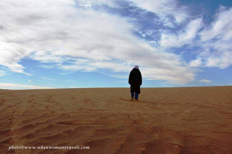 a day in the Sahara Desert