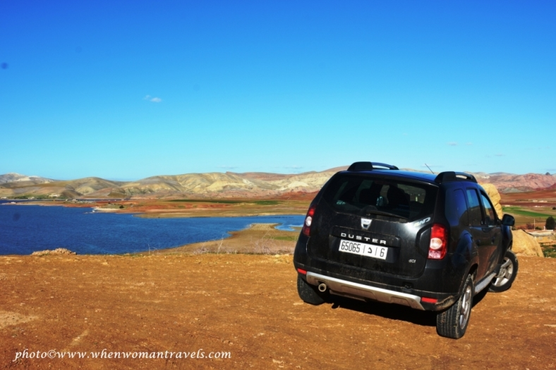 rented Dacia Duster in Morocco