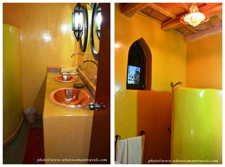 Kasbah Zitoune_shower_bathroom