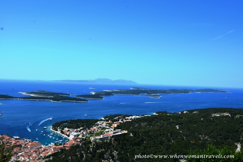 Hvar view from the top