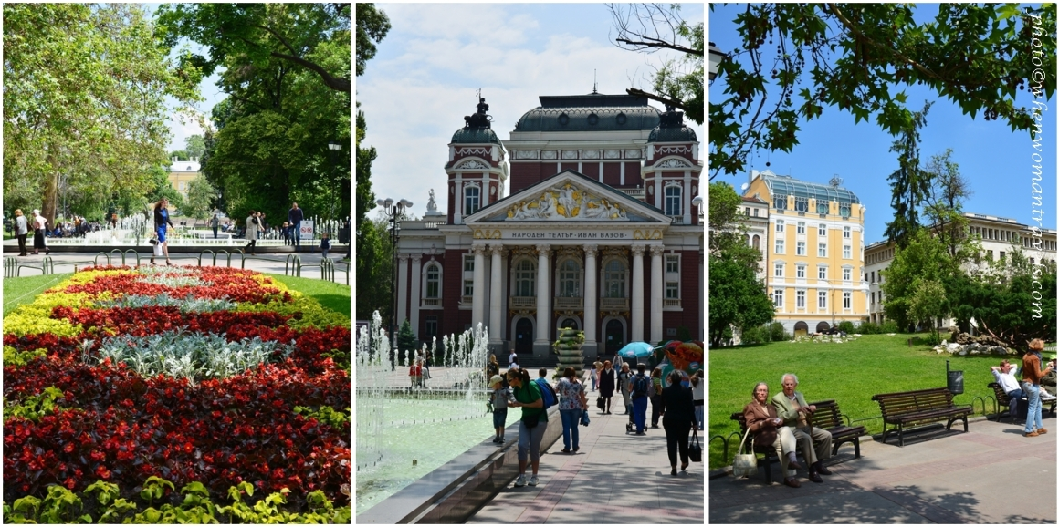Sofia free activities - Ivan Vazov National Theatre