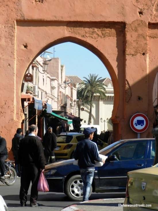 gate to Marrakech's medina