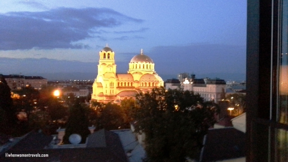 Sofia-Alexander Nevsky Cathedral from Sense Rooftop Bar