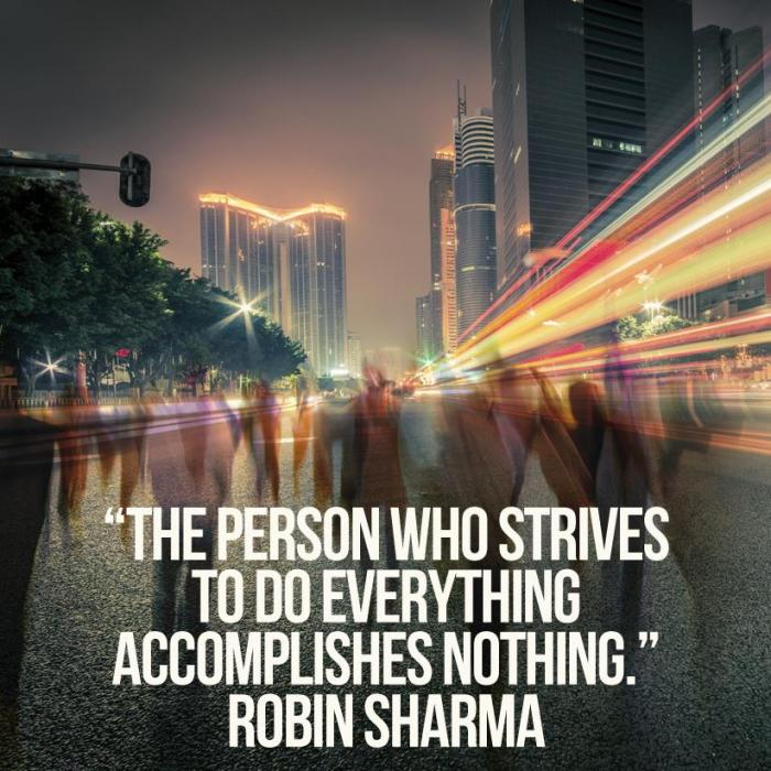 Robin Sharma motivational quotes