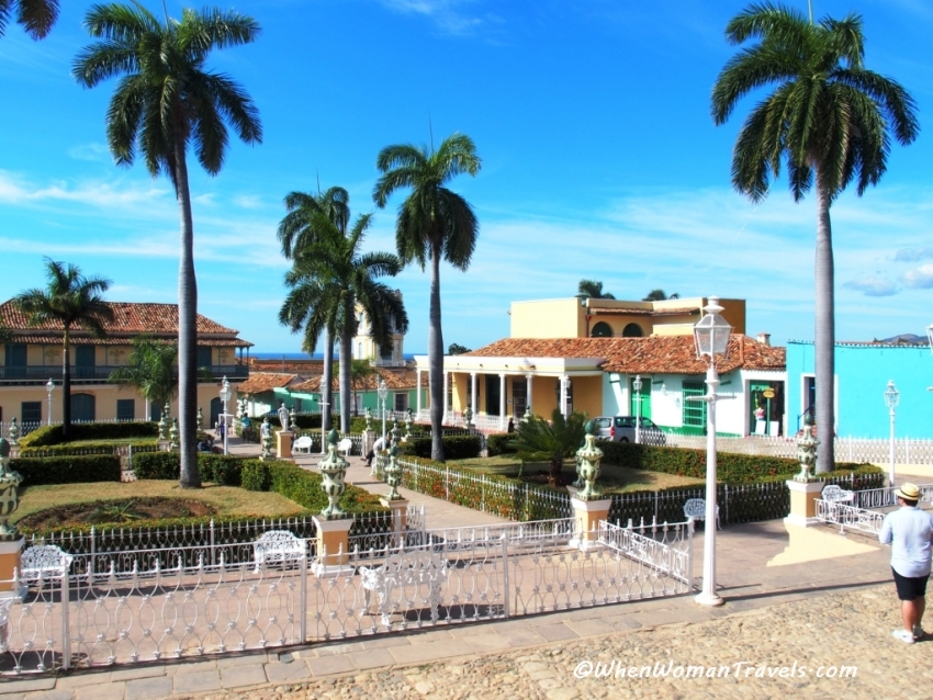 photos of Plaza Mayor Trinidad Cuba