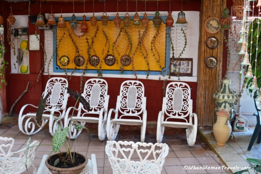 Pottery masters house in Trinidad Cuba