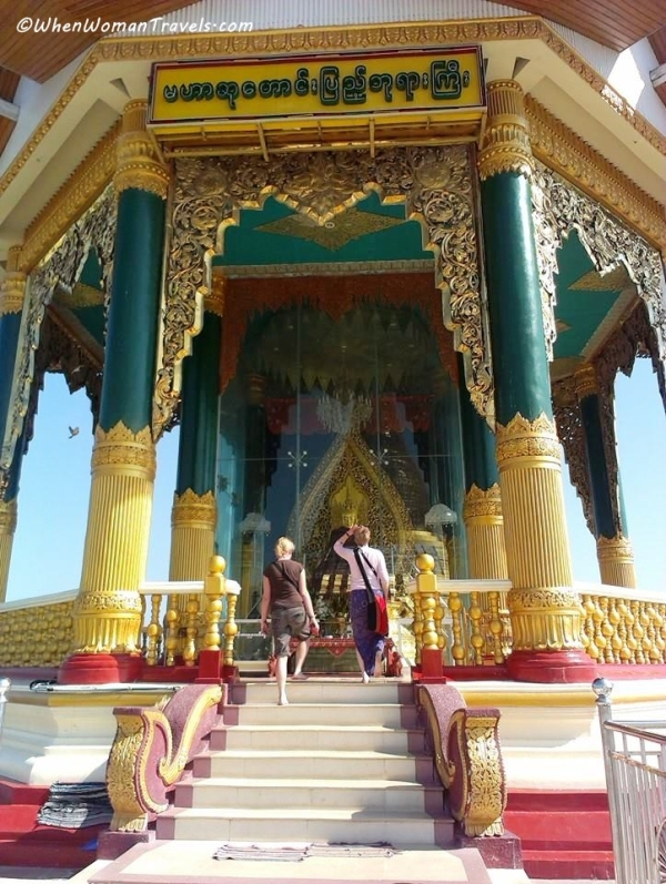 at Uppatasanti pagoda