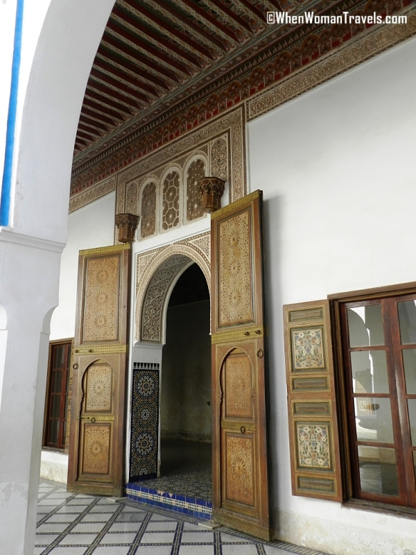 Architecture_Bahia_palace_Marrakech